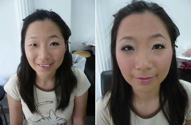differen makeup look for a bride