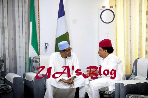 PHOTOS: Buhari meets APC governors, lawmakers in Daura