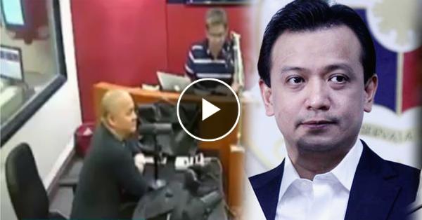 """Radyo Broadcasters tinawanan si Trillanes: """"San kaya nya nakuha yung ganung impormasyon?"""""""