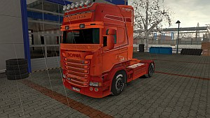 #Borce skins pack for Scania RJL