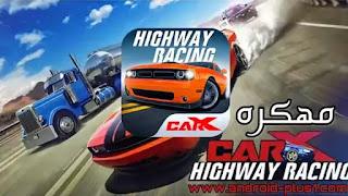 تحميل لعبة CarX Highway Racing hack mod apk + obb مهكرة تهكير كامل اخر اصدار للاندرويد