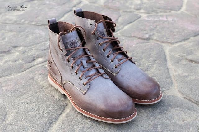「敗家之路」Timberland 深褐色復古摔紋高筒靴 - 3