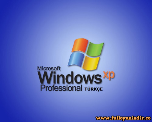 windows xp türkçe