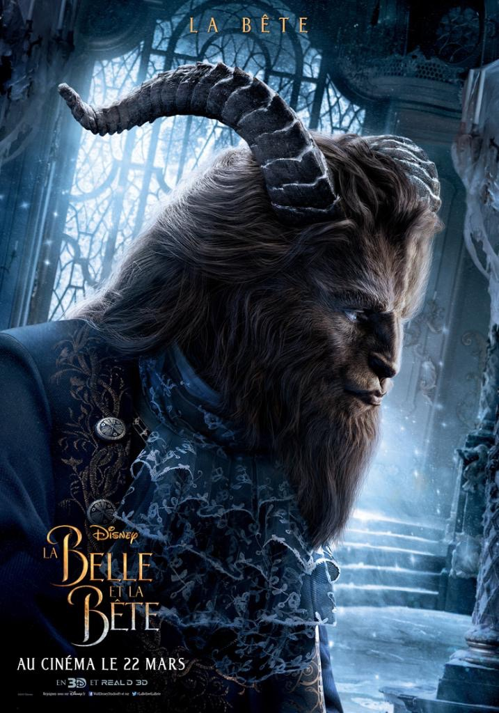 Beauty And The Beast Movie News Belle Beast Lumiere More Enchant In Eight New French Character Posters