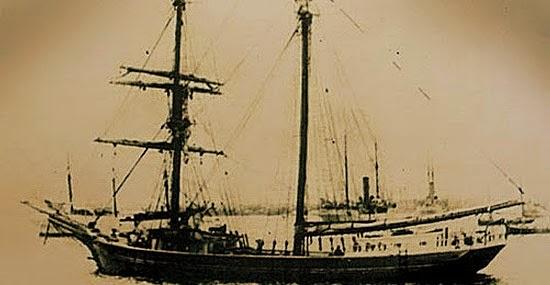 O Navio fantasma Mary Celeste e seu mistério que nunca foi desvendado