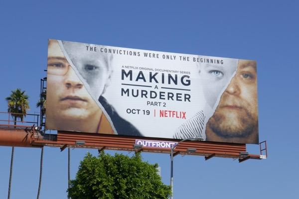 Making a Murderer Part 2 billboard