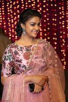 Keerthi Suresh Looks super cute in Designer Anarkali Dress at Zee Telugu Apsara Awards 2017 11.JPG