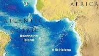 Η Νήσος Αναλήψεως βρίσκεται στο νότιο Ατλαντικό Ωκεανό