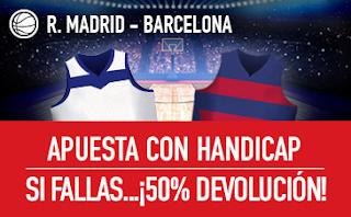 sportium Promo ACB: Real Madrid vs Barcelona 12 noviembre