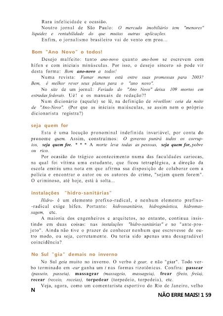 portugues concurso