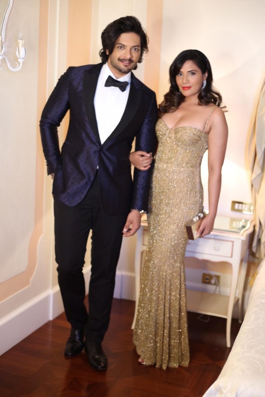 Richa Chadha Goes Golden Glam for Venice International Film Festival