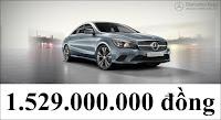 Giá xe Mercedes CLA 200