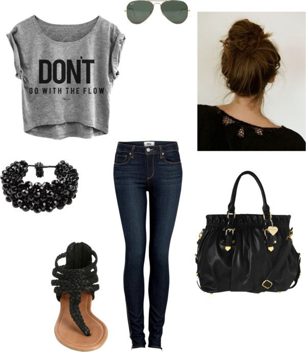 First Day Of School Outfit Haute People