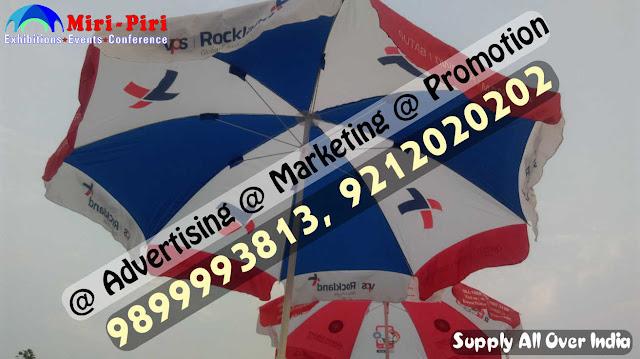 Advertising Umbrella, Advertising Umbrella Price, Promotional Umbrella Manufacturers in Delhi,