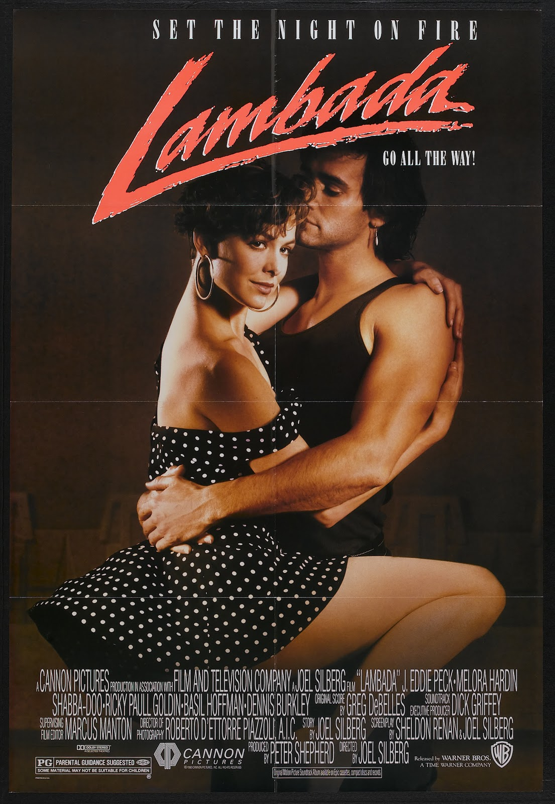 MOVIE POSTERS AND COVERS: Lambada (1990)