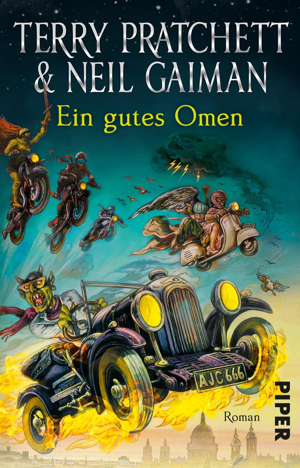 Neil Gaiman Terry Pratchett Ein gutes Omen