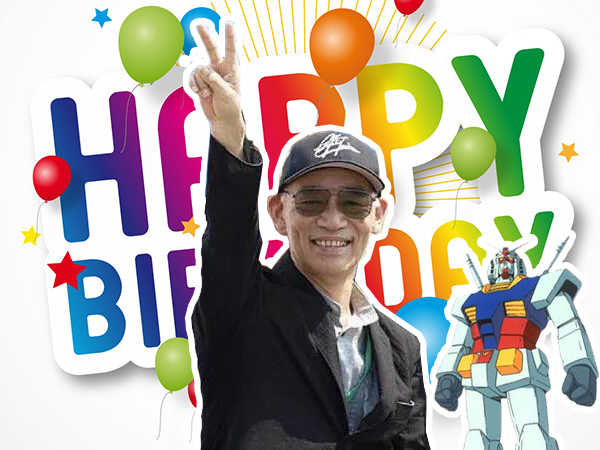 Happy Birthday Mr Yoshiyuki Tomino Gundam Kits Collection News