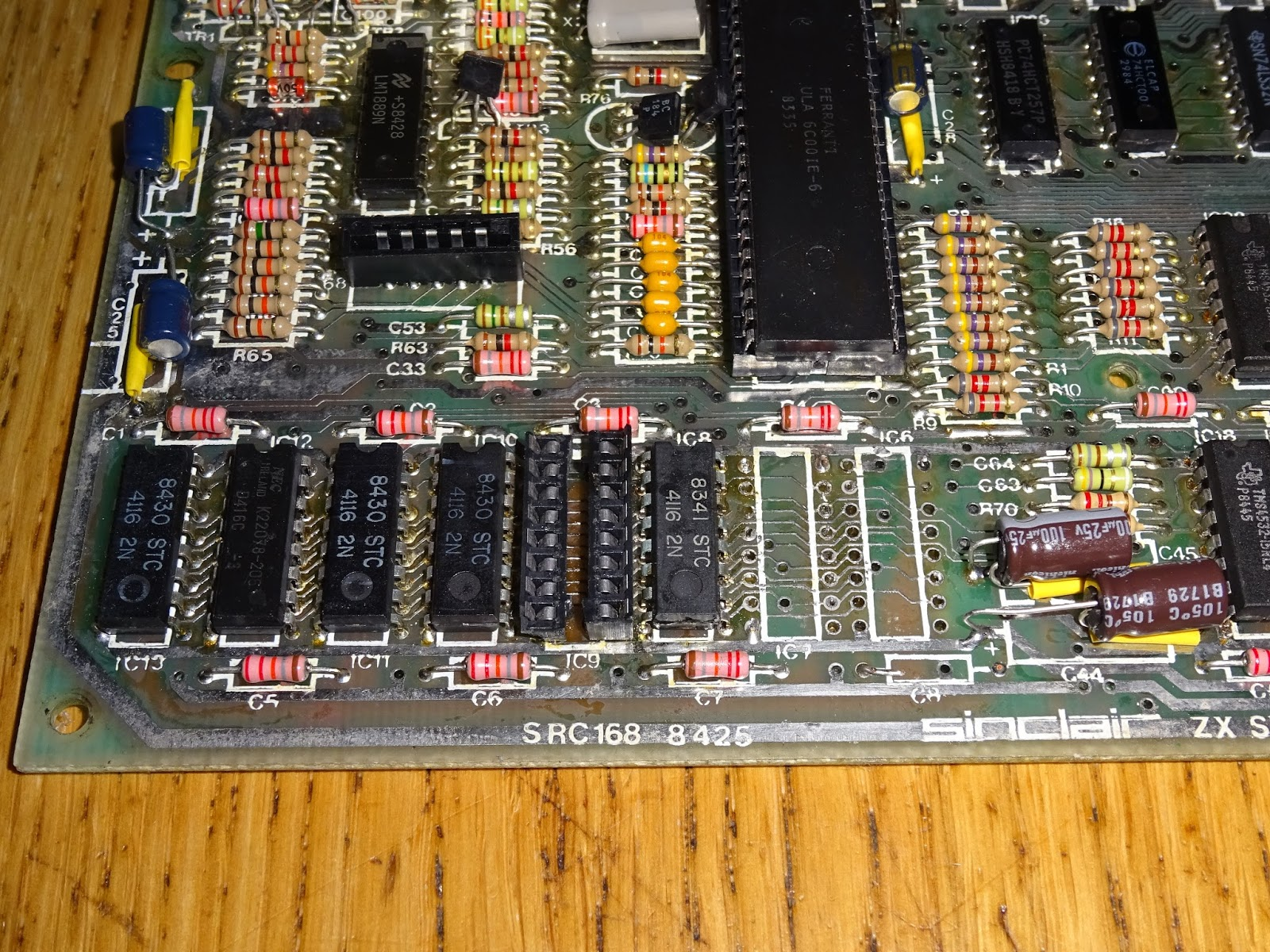 Tynemouth Software April 2018 Plated Through Hole Circuit Board Repair Kit This Other Is One I Have Been Putting Off For A While Some Tracks Damaged And Plating Removed It Has Recapped With