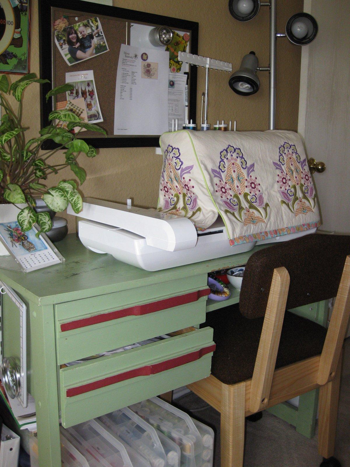 Molly Mudshoes Sewing Room Redo Intermediate Stage