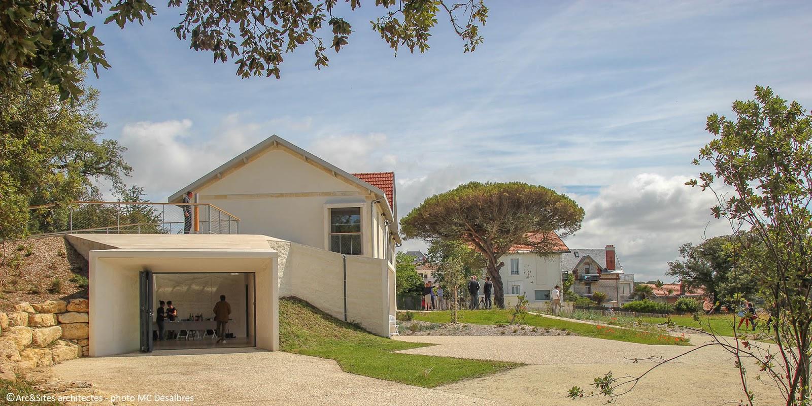 arc sites architectes du patrimoine maison des douanes centre d 39 art royan atlantique. Black Bedroom Furniture Sets. Home Design Ideas