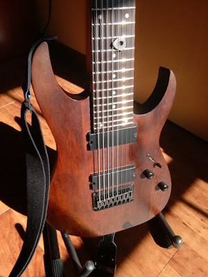 Ibanez RG8 Walnut Guitar
