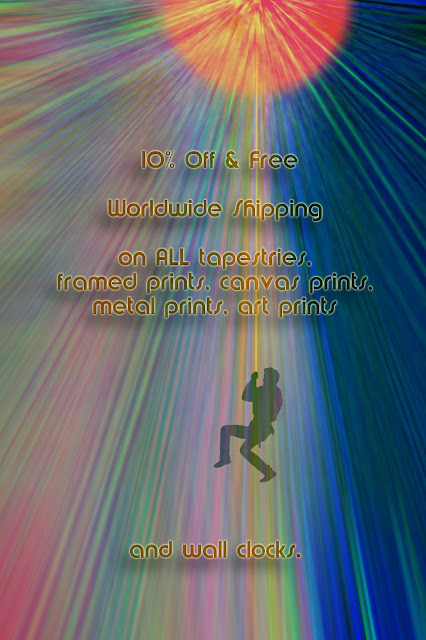 aktion auf society6, sale on society6, augenwerk, susann serfezi, klettern, climbing, sonnenstrahlen, sun rays, illustration, free climbing, reaching the sun, zenit, rainbow colors, regenbogenfarben, bunt, colorful,