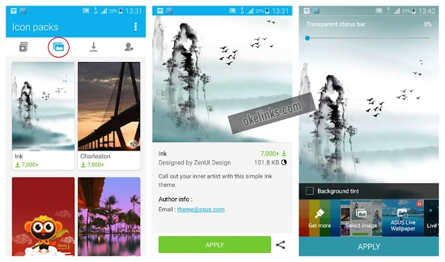 Aplikasi Launcher Android Ringan