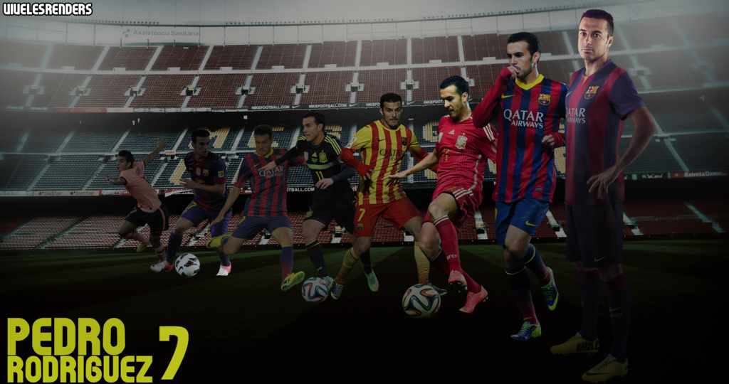 Pedro Rodriguez Fc Barcelona HD Wallpaper