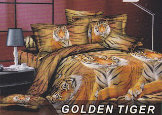 Sprei Fata Golden Tiger