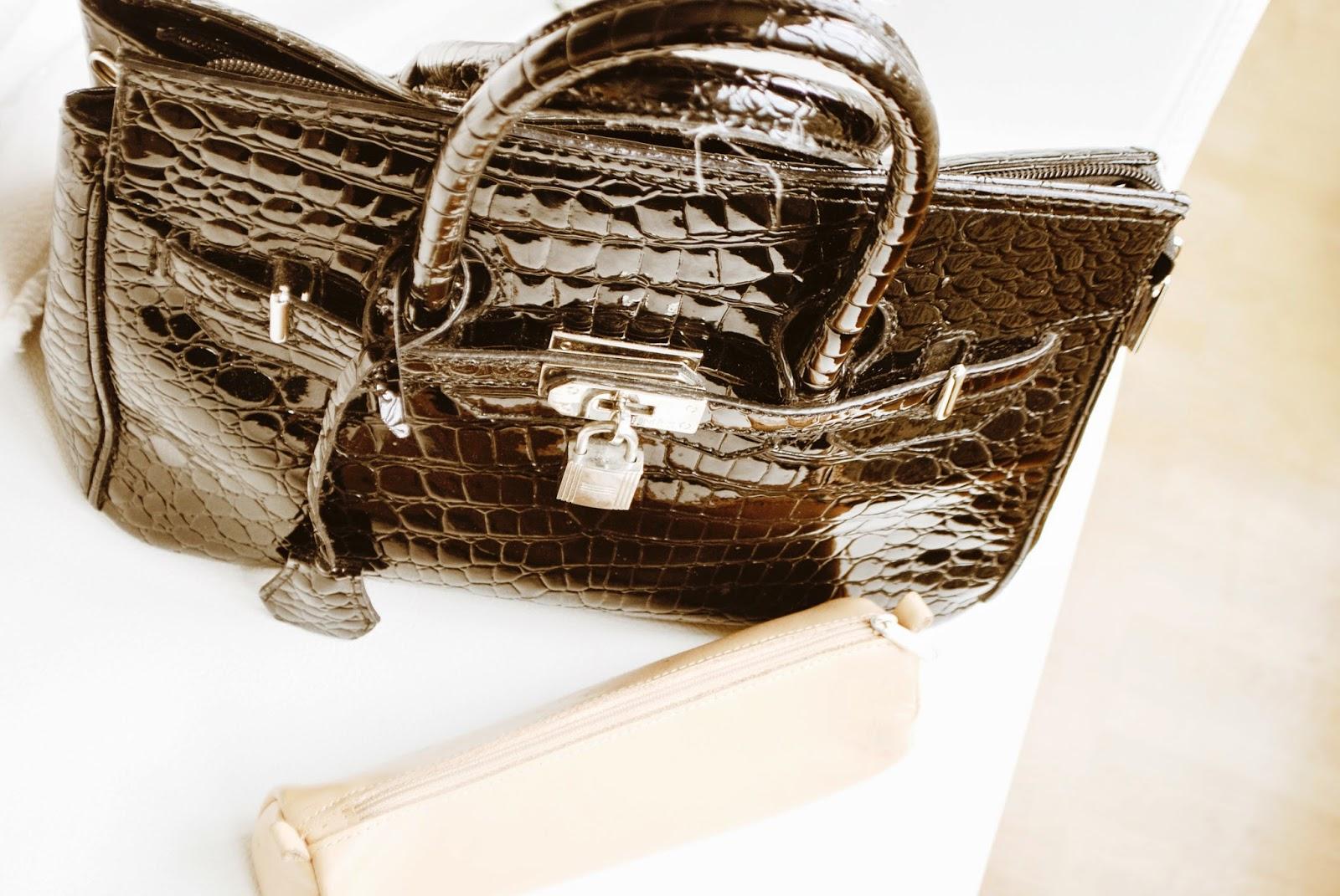 Handtaschen bleiben länger schön..