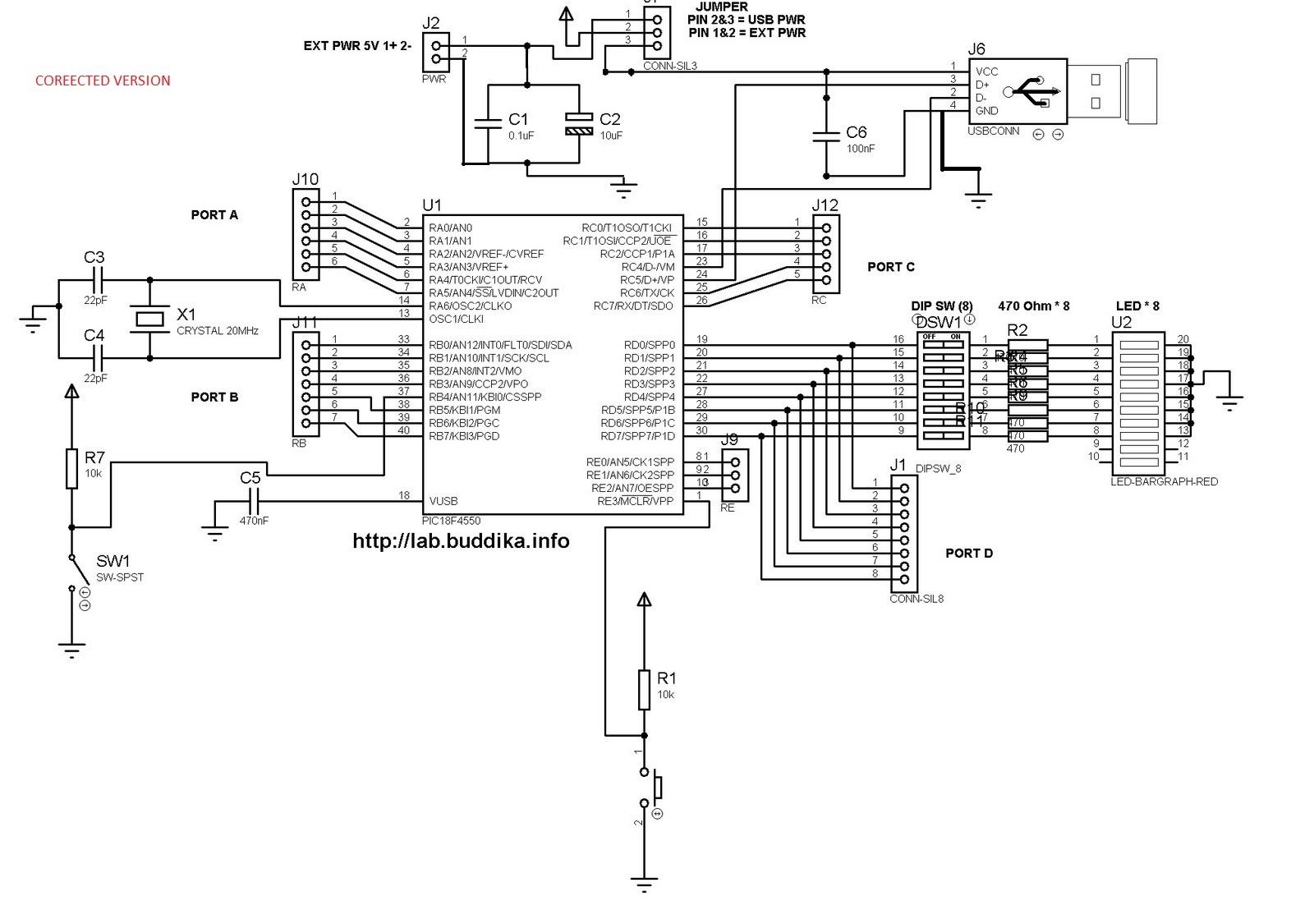 development board for 18f4550