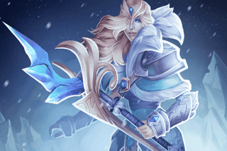 Crystal Maiden - Charge of The Tundra Warden