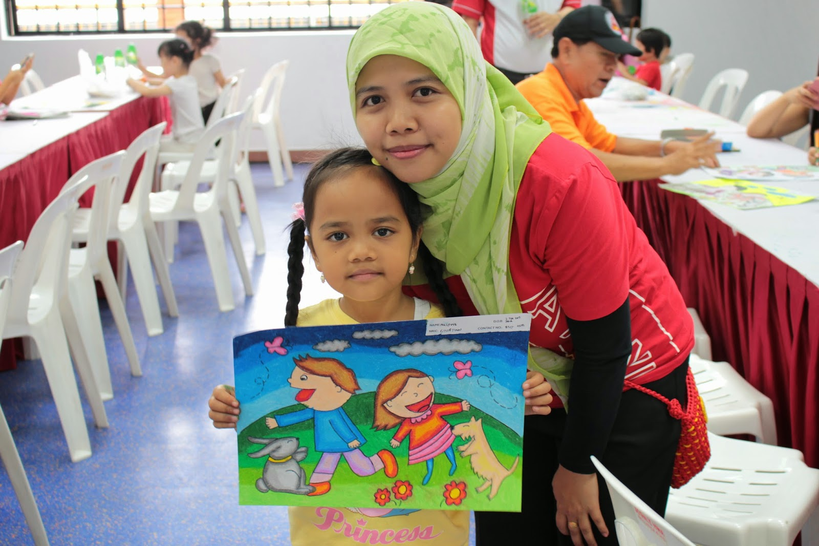 Coloring Competition di Singapura (5/6)
