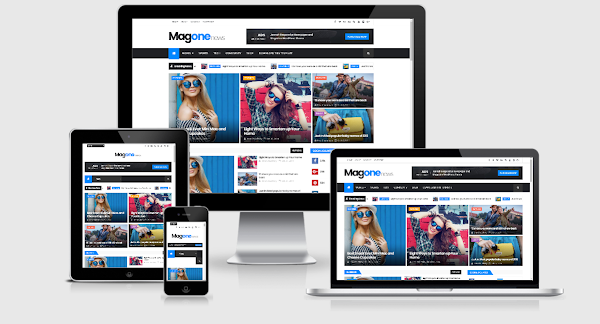 Magone Blogger Template Magazine