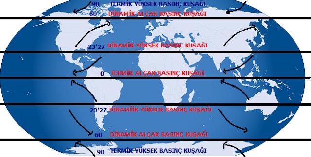 dünyadaki sürekli rüzgar haritası