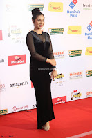 Vennela in Transparent Black Skin Tight Backless Stunning Dress at Mirchi Music Awards South 2017 ~  Exclusive Celebrities Galleries 101.JPG