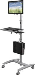 Sit To Stand Mobile Workstation