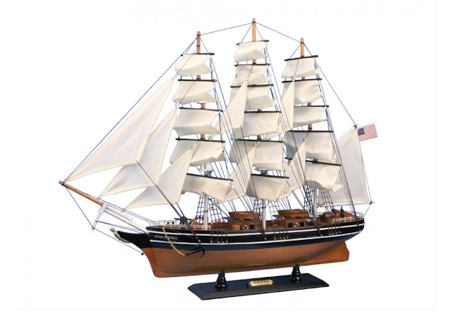 Wooden Model Ship Star of India