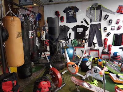 tienda de boxeo y ykickboxing en madrid