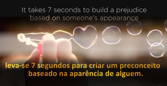 Leva-se apenas 7 segundos para se criar um preconceito baseado na aparência de uma pessoa