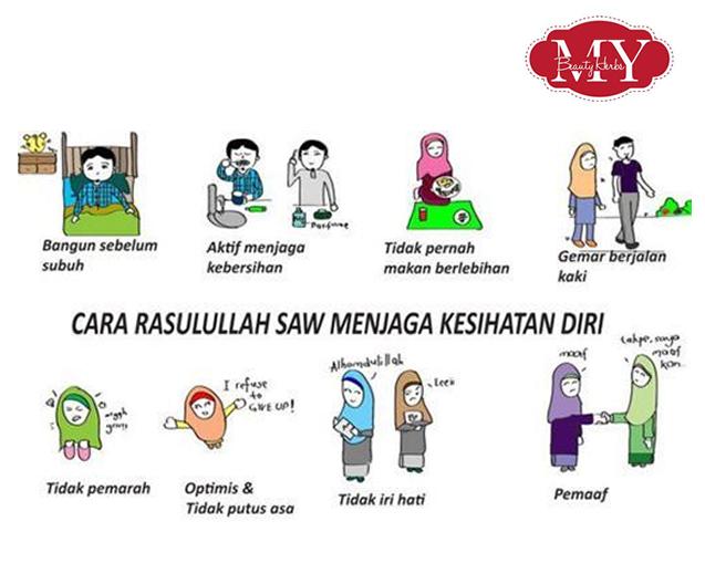 Image result for Sharing Is Caring : 8 Sunnah Cara Rasulullah SAW Menjaga Kesihatan Diri Dan Hidup Sihat