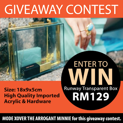 Win Runway Transparent Box Giveaway Contest