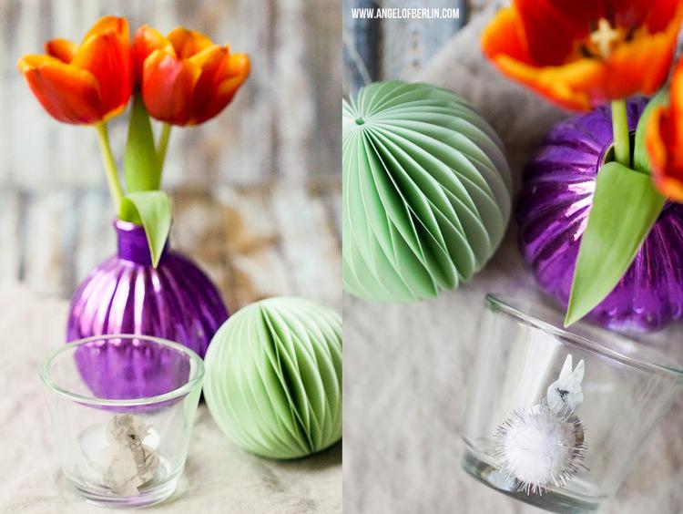 DIY Oster-Teelichtgläser