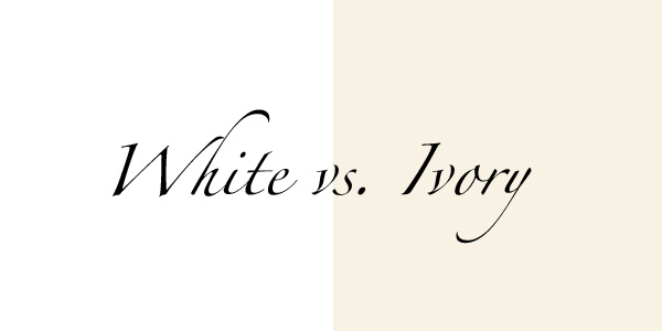 Lilla S Bridal Boutique Tuesday S Tip 6 White Vs Ivory