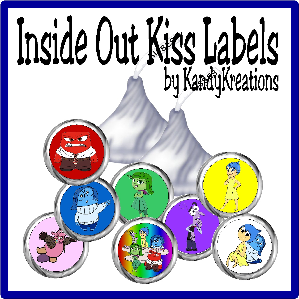 inside out kiss label free printable everyday parties. Black Bedroom Furniture Sets. Home Design Ideas