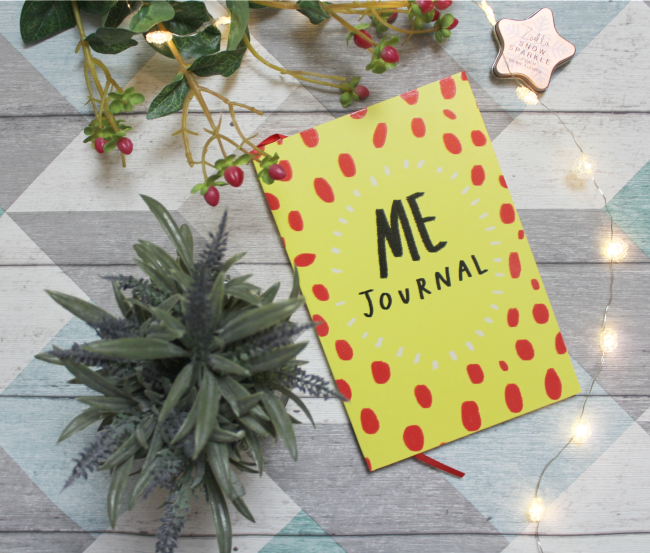 Getting personal with my 'Me' Journal - www.nourishmeblog.co.uk