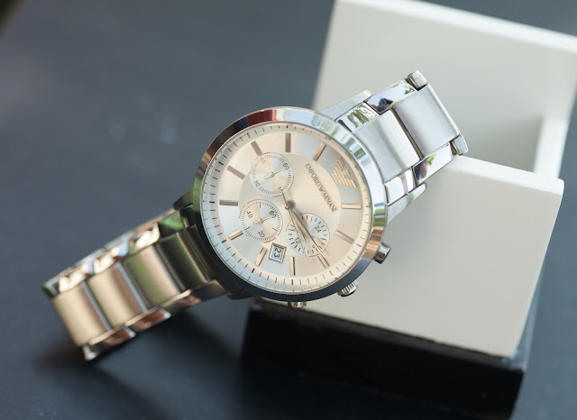 Đồng hồ đeo tay nam Armani dây sắt đáng mua nhất 2016 tại Cầu Giấy