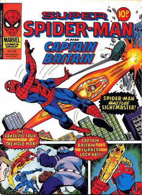Super Spider-Man and Captain Britain #234, Light-Master