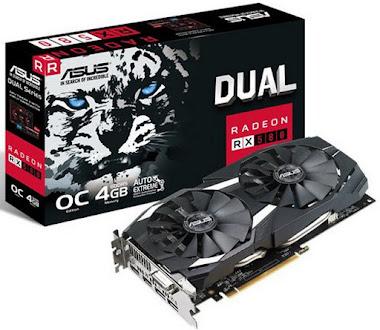Asus Radeon RX 580 OC 4 GB