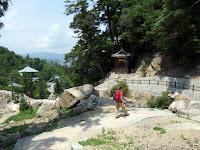 弥山の大聖院コースで下山